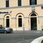 Train station-Funicolare is right across the street