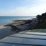 Outside view slack tide