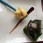 Tamal de chocolate... Delicioso!!