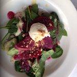 Heirloom beet salad, $8.00.