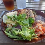Big plate of food!