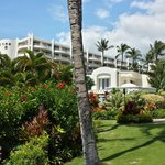 View from the beach at The Fairmont Kea Lani