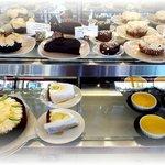 A beautiful dessert showcase
