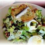 A classical Caesar salad