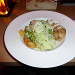 Grilled Chicken & Caesar Salad