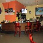 Gaby's Cafe bar room / Rhinebeck, NY