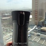 Westin cup and view