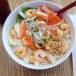 Shrimp vermicelli