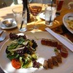 delicious ahi tuna salad