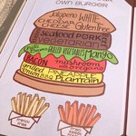 build your own burger at Pelicano's