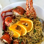 Lobster Spaghetti for two plus