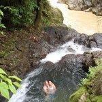 swimming hole and the Naranja River