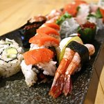 Authentic Pacific Ocean sushi.