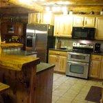 #18 Silver Mountain Lodge newly renovated kitchen