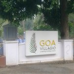 Goa Villagio entrance
