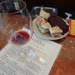 wine tasting & sweets