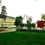 The old main and ward buildings of Rauha asylum