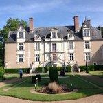 gardens at Chateau Noizay