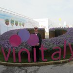 The Travelling Gourmet at Vinitaly in Verona