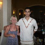 Our attentive waiter (Ahmed)