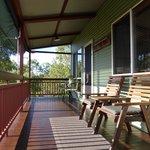Green Cottage verandah