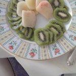 Onion tasting kiwi