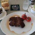 half/end so called steak