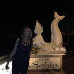 first night at the Puri Santrian