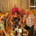 Jackie, Ray, Lesley, Carol and Dave. Met some lovely people here.