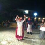 Ken doing a greek dance