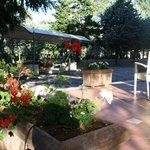 il parco del Villa Ambra