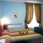 le camere del Villa Ambra
