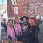 Paso por la Feria de abril del 2014 en Alcudia.