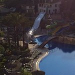 view of water slides