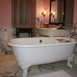 Bathtub in our lovely Suite