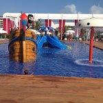 Kids pool close to main pool