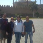 Dianne(me) Kelly , Mike & Moustafa at the Citadel