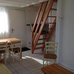 cottage escalier de mezzanine (un peu pentu)
