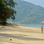 Nai Yang Beach around the headland