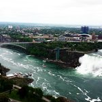 From the skylon tower