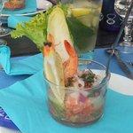 Tartare de saumon st jacques!!!!