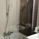 vu de la douche baignoire