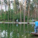 озеро для ловли рыбы