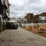 Main square at Caceres