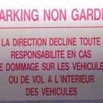 Bienvenue au parking payant !