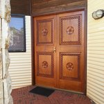 front door to accommodation