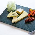 Delicious local cheese selection