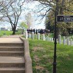 John F. Kennedy Grave Site, Arlington National Cemetery, April 23, 2014