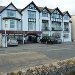 Cliffdene Hotel, Newquay exterior