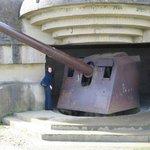 Gun emplacement, Longues sur Mer